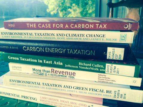 Carbon tax books photo